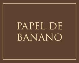 Papel de Banano