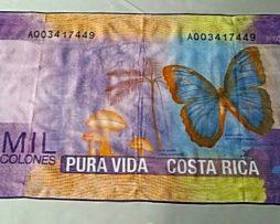 PAÑO 70x140CM 250G MICROFIBER BILLETE 50.000